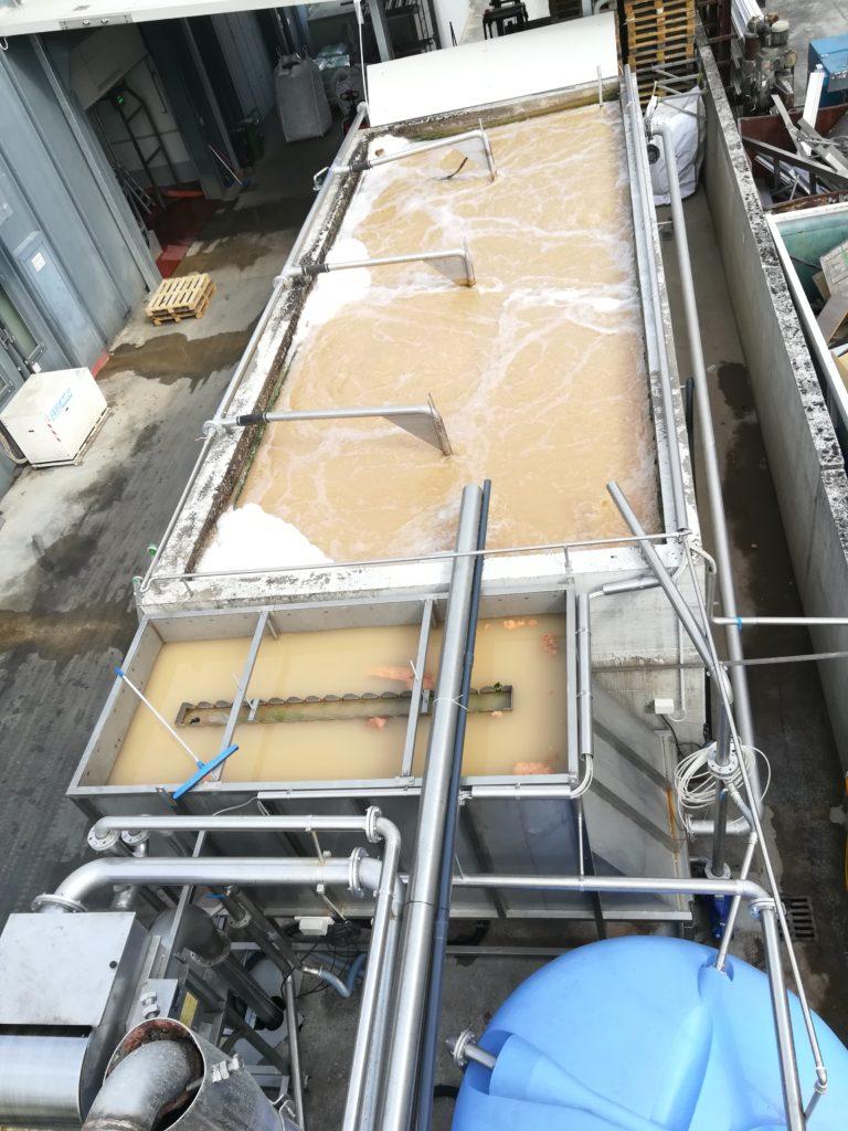 vasca ossidazione insufflazione aria