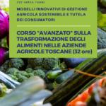 Corso avanzato di formazione sulla trasformazione degli alimenti nelle aziende agricole